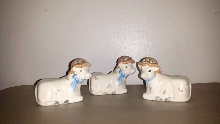 Vintage Cow Salt & Pepper Shaker Set,3 Pc Set,Cow Toothpick Holder,Condiment Set,Shakers,Toothpick Holder,Farmhouse,Country Decor,Cow,Kitsch by JunkYardBlonde on Etsy
