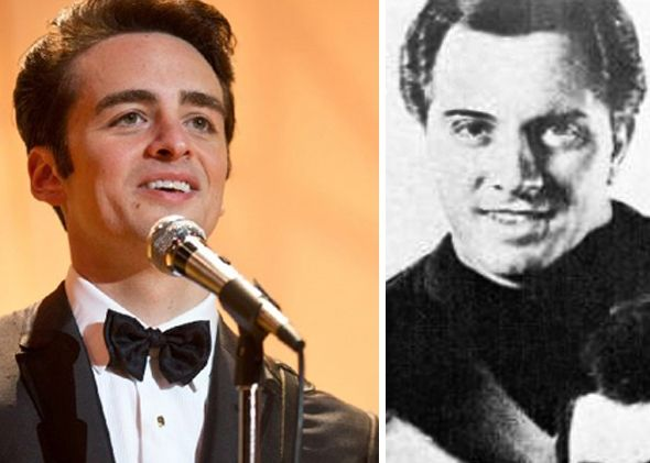 Vincent Piazza and Tommy DeVito