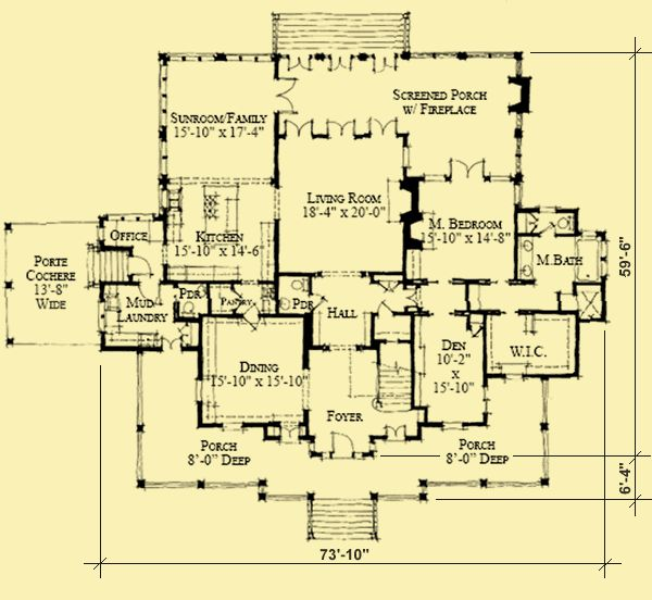 10 best ideas about plantation floor plans on pinterest for Plantation floor plan