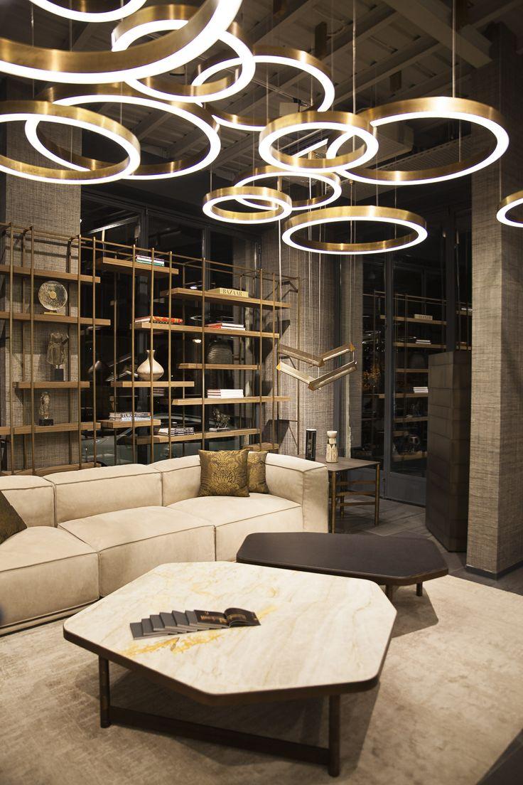 25 best ideas about furniture showroom on pinterest - Interior hair salon lighting ideas ...