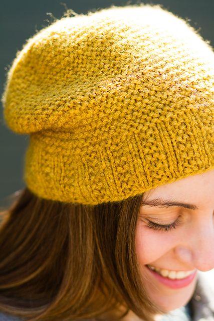 Ravelry: Downy Garter Hat pattern by pamela wynne
