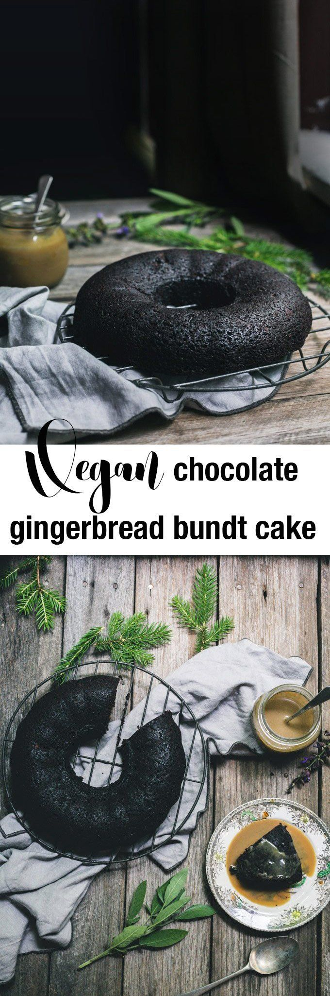 In the time you can say Vegan Chocolate Gingerbread Bundt Cake, you can have this gorgeously moist, heavenly spiced cake on the table.