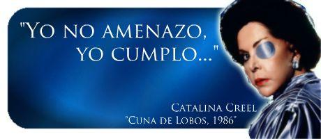 Así lo dijo Catalina Creel, la villana por excelencia en #CunaDeLobos