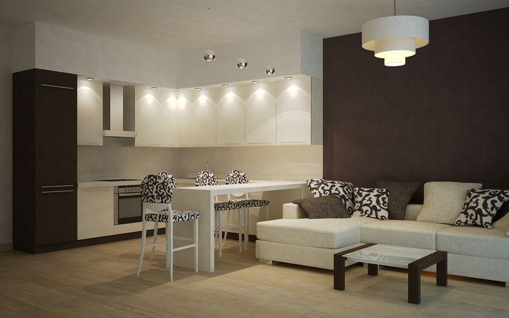 Картинки по запросу кухня-столовая 15 кв.м