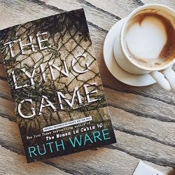 Ruth Ware is one of my favorite psychological thriller writers. Her books are always fast-paced and taut, drawing the reader into a story that sinks its teeth into you until the very last page. THE LYING GAME is no exception. Though quite different from Ware's latest (THE WOMAN IN CABIN 10),