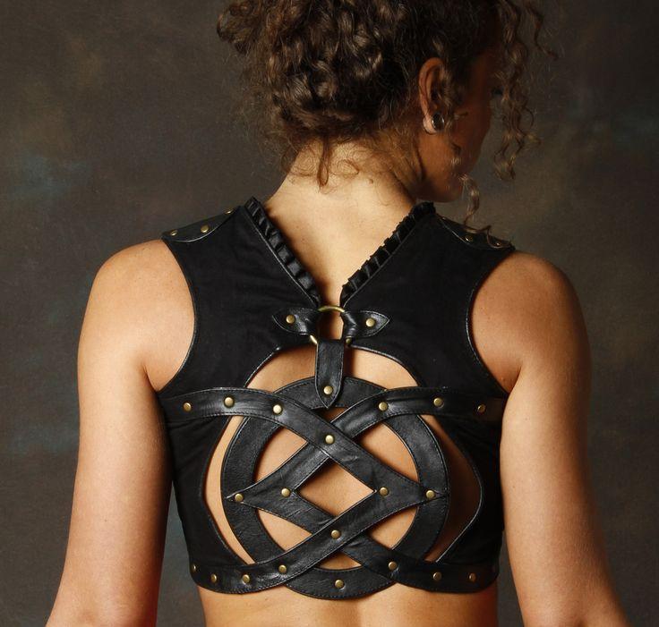 Sefirah Fierce Designs — Leather Oz Top