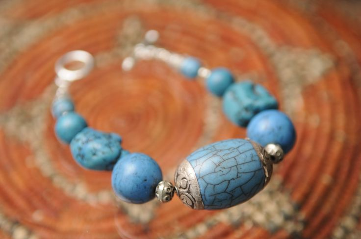 Turquoise bracelet by Tinky  https://www.facebook.com/TinkySonntag