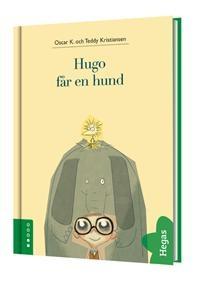 Hugo får en hund - Oscar K, Teddy Kristiansen  Första delen i en riktigt absurd men älskvärd serie med börja läsa böcker. Hugo ser dåligt, minus 32 på båda ögonen  och när han går till GLÖMDA DJUR för att skaffa en hund blir det kanske lite tokigt. Jag gillar att det pågår så mycket i bilderna som aldrig kommenteras i texten.