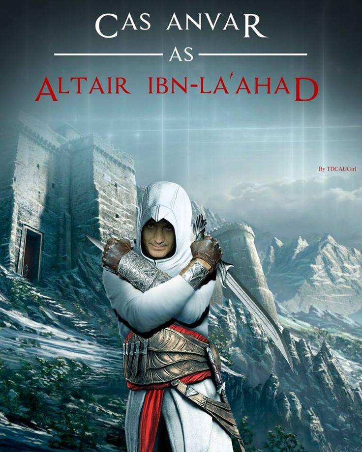 Winner fan art of Mentor Altair done for Cas Anvar.