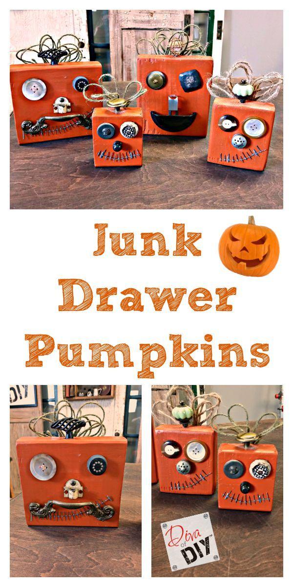 Junk-Drawer Pumpkins