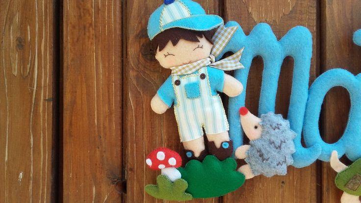 banner bambino animali del bosco, by dreamfairy, 22,00 € su misshobby.com