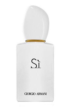 Giorgio-Armani/Si-White # floral woody vanilla patchouli amber rose