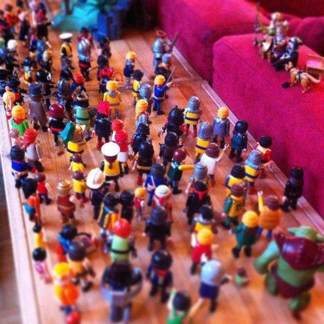 Le roi a convoqué une assemblée générale extraordinaire #playmobil