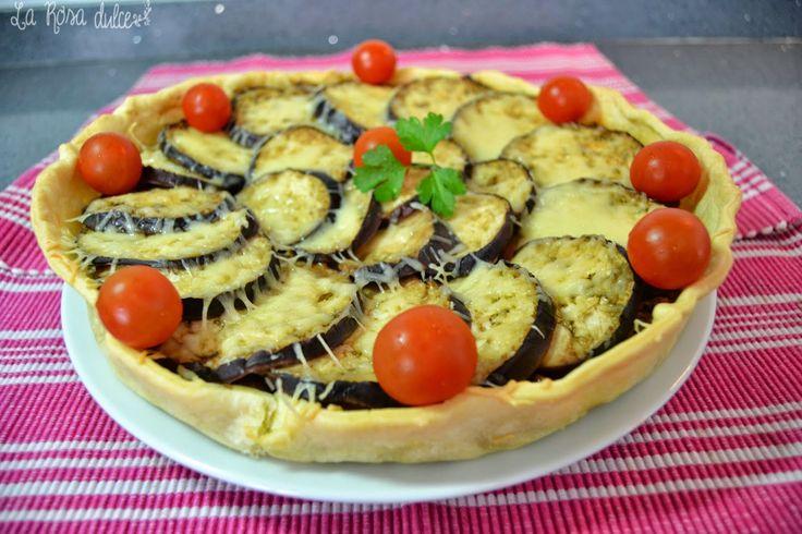 receta quiche de berenjenas