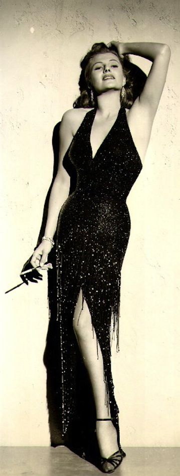 Rita Hayworth in Affair in Trinidad 1952.......Uploaded By www.1stand2ndtimearound.etsy.com   Supernatural Style
