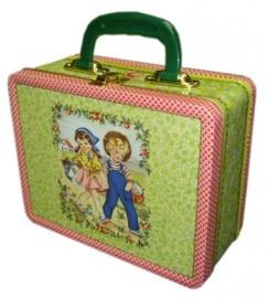 Blikken koffertje van Froy & Dind