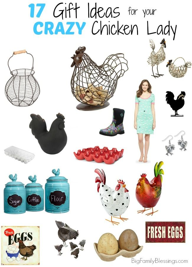 Do you have a Crazy Chicken Lady in your life. Get her the fabulous gifts! #chicken #saturdayswag #raisingchickens #feed #organicfeed #backyardchickens #chickencoop #coops #backyard http://bit.ly/2nAynkw