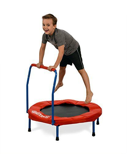 "Kangaroo's 36"" Kids Trampoline, Indoor Trampoline For Kids - http://www.exercisejoy.com/kangaroos-36-kids-trampoline-indoor-trampoline-for-kids/fitness/"