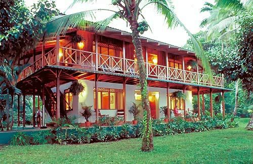 I'd live here. in a heartbeat. Love Caribbean style plantation homes!