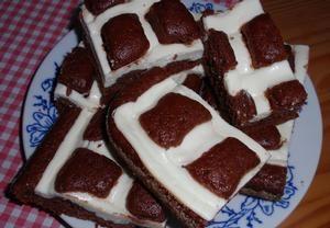 Jogurtový koláč s tvarohem