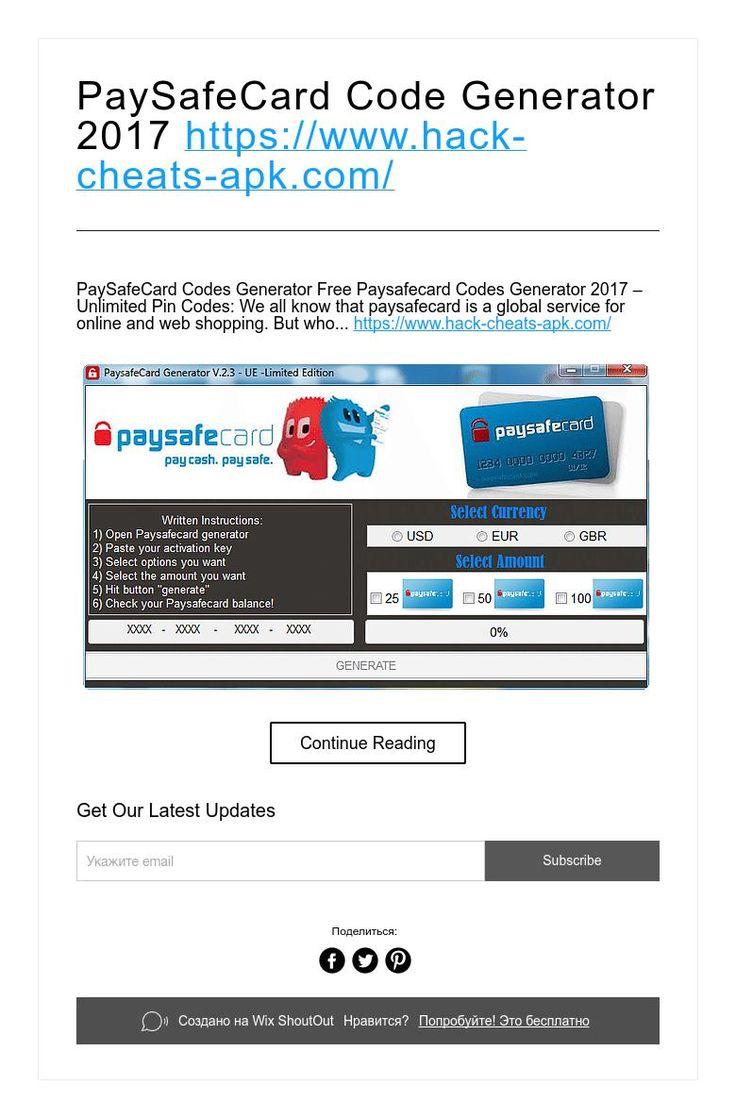 Paysafecard Codes Online Kaufen