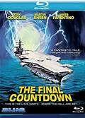 The Final Countdown (1980). [PG] 103 mins. Starring: Kirk Douglas, Martin Sheen, Katharine Ross, James Farentino, Ron O'Neal, Charles Durning, Peter Douglas, Neil Ronco and Jack McDermott