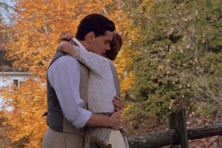 I'm a romantic. I love Anne of Green Gables. For me, there is no romance quite like that of Anne and Gilbert. My goodness, their romance began when they were children. Here is one of my favorite scenes from the  Anne of Green Gable series.