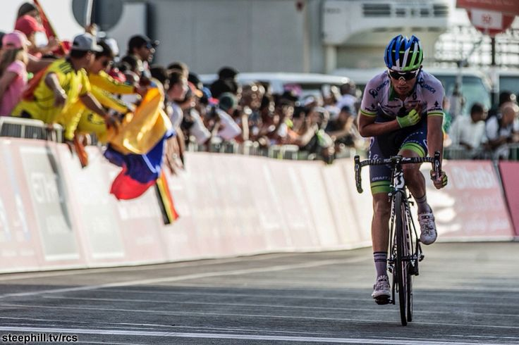 Chaves wins the Abu Dhabi Tour