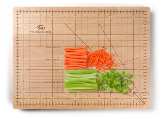 "So that @Hyoun Park and I can be on the same page about what constitutes ""dicing"" vs. ""mincing."" #cuttingboard #kitchen"