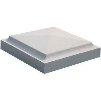 Giardino e terrazzo-Cappello per pilastro 30x30 in pietra ricostruita-33886426_1