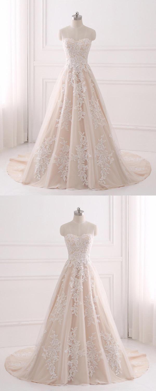 Champagne aline appliques qprom prom dresses