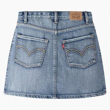 Levi's Girls 7-16 High Rise Button Front Skirt 8