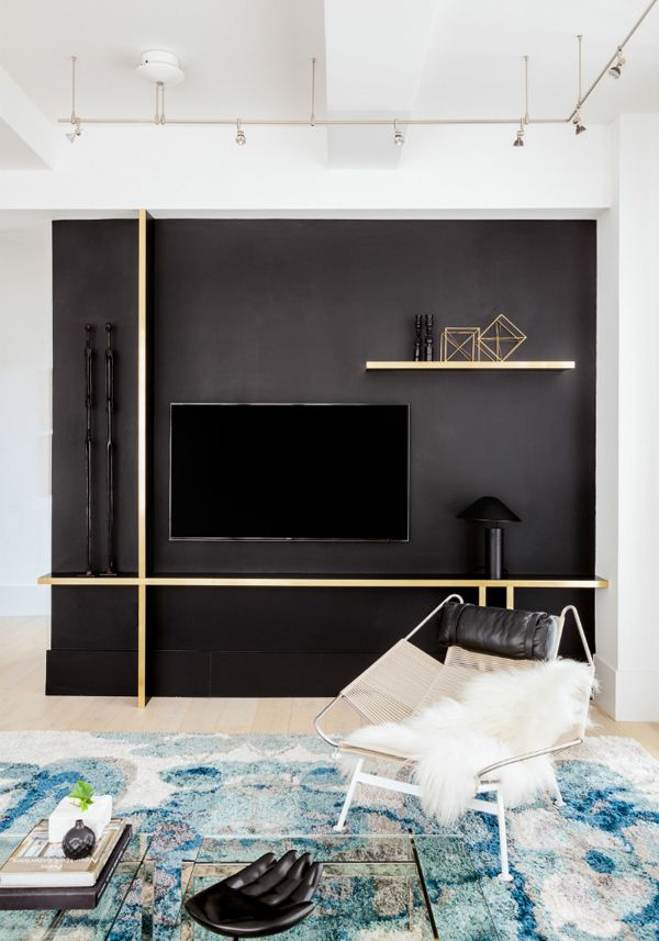 17 best ideas about black accent walls on pinterest for New york based architecture firms