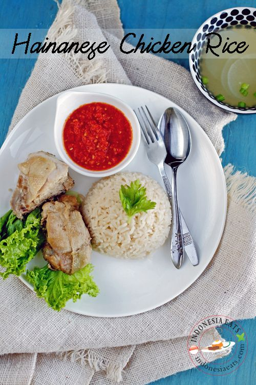 Hainanese Chicken Rice.  This dish can be found in Indonesian, Malaysian, Singaporean and Vietnamese cuisine