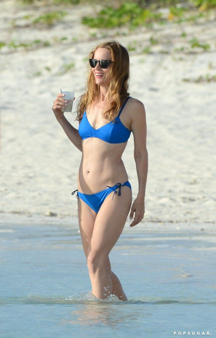 Pin for Later: Age Is Just a Number! See Hot Stars Over 40 in Bikinis Leslie Mann, 44