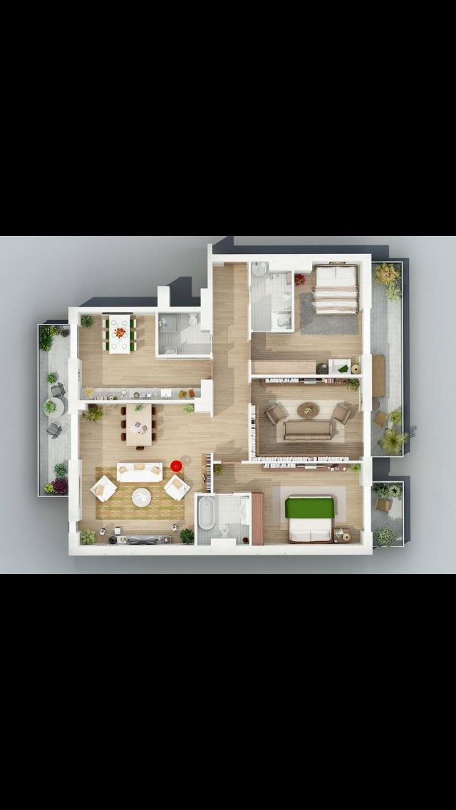 Sim house layouts