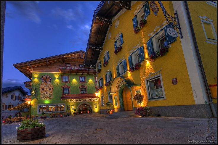 Photograph Bischofshofen - the main square by Paul Sirugo on 500px