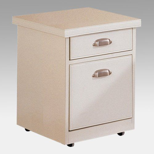 Tribeca Loft 2 Drawer Vertical Filing Cabinet In White By Kathy Ireland  $299.99
