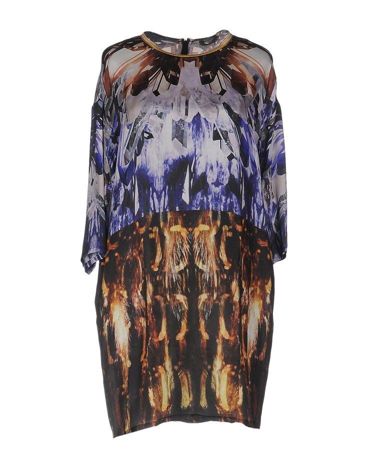 $133  Space Style Concept Short Dress - Women Space Style Concept Short Dresses online on YOOX United States - 34687427CE