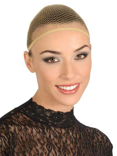Netted Wig Cap - Keep your hair under wraps with this netted wig cap.  #yyc #costume #wig