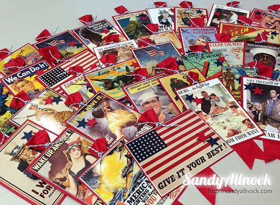 Sandy Allnock Veterans Day Gifts