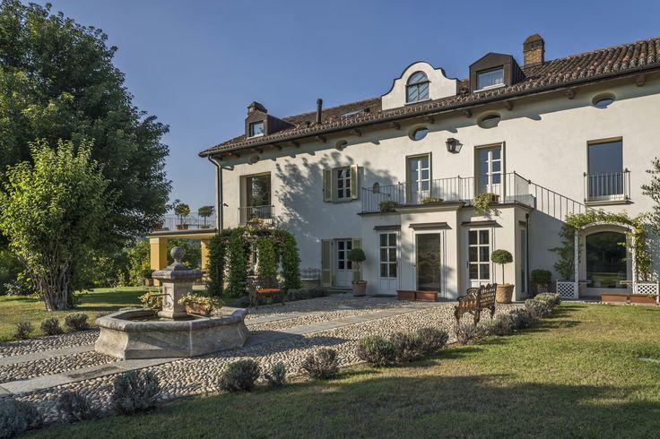 The main entrance #villas #luxury #monferrato #piemonte