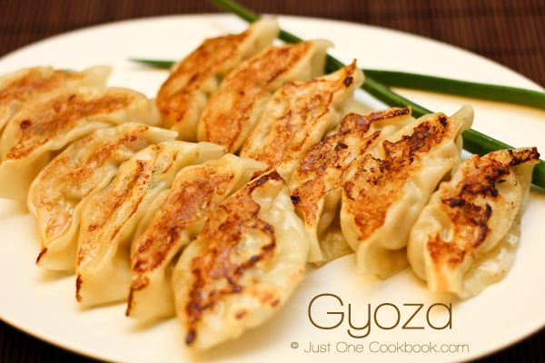 Gyoza from @Nami | Just One Cookbook