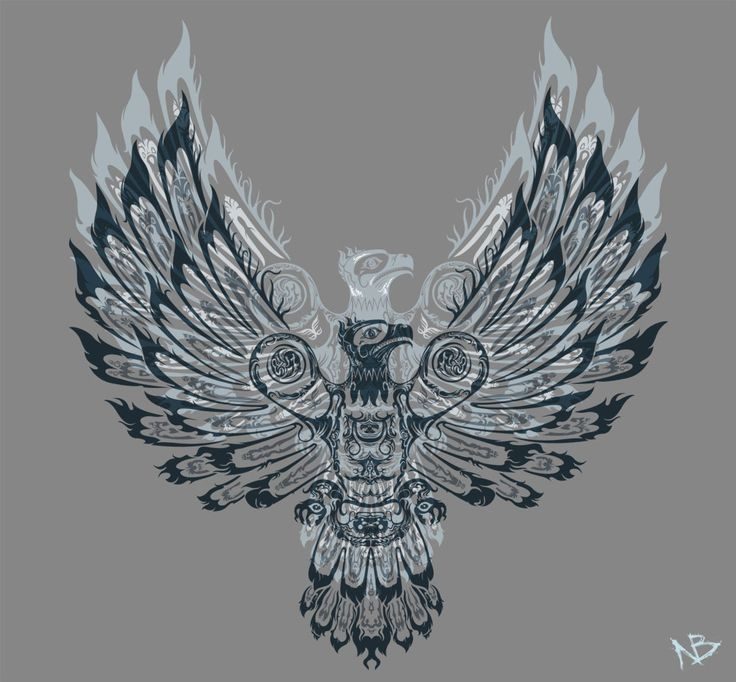 Phoenix bird, Mythology and Thunderbird animal on Pinterest