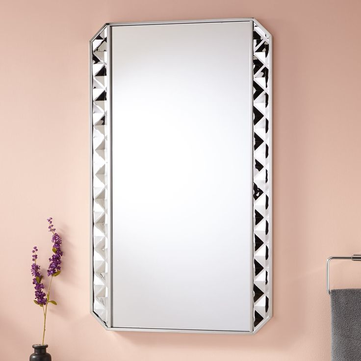 """24""""+Mayola+Stainless+Steel+Mirror+-+Polished"""