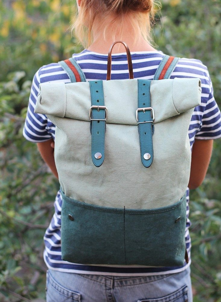 """Roll-Top Backpack """"Unique"""" 