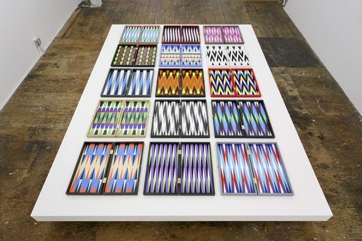 Backgammon heaven.  Ara Peterson