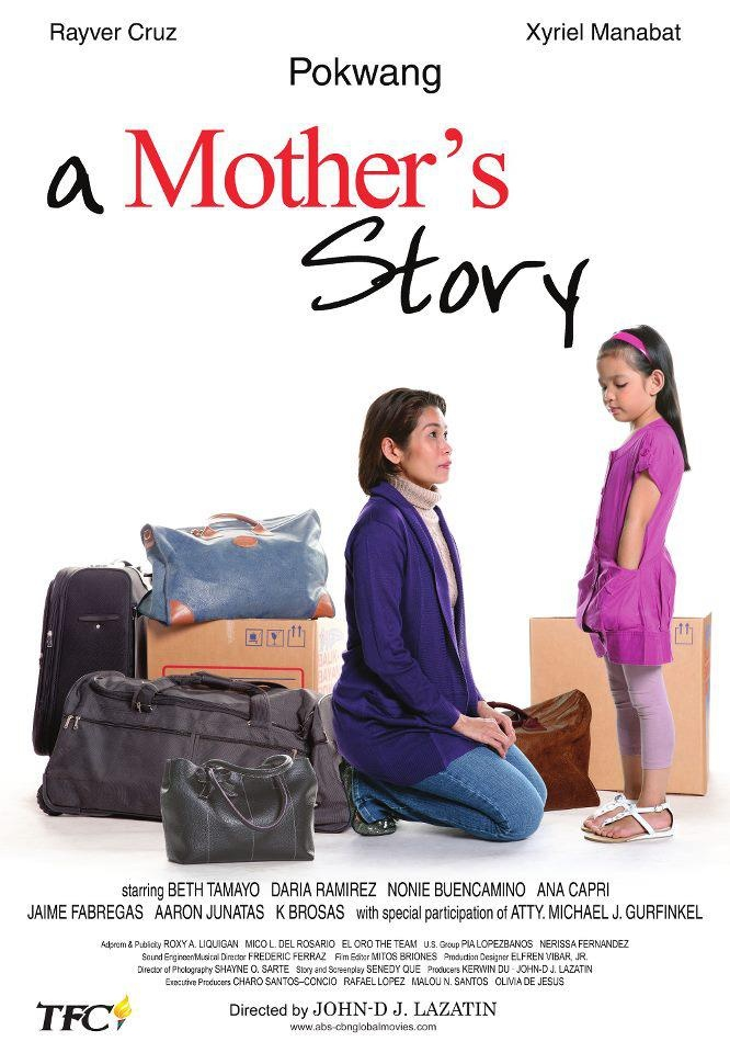 A MOTHER'S STORY. January 16, 2012 at Powerplant Cinemas, Powerplant Mall, Rockwell Center