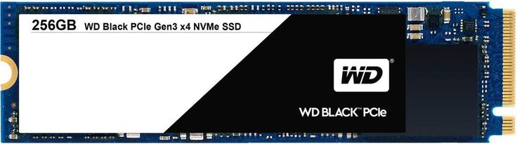 WD - Black PCIe 256GB Internal PCI Express 3.0 x4 (NVMe) Solid State Drive for Laptops, Blue