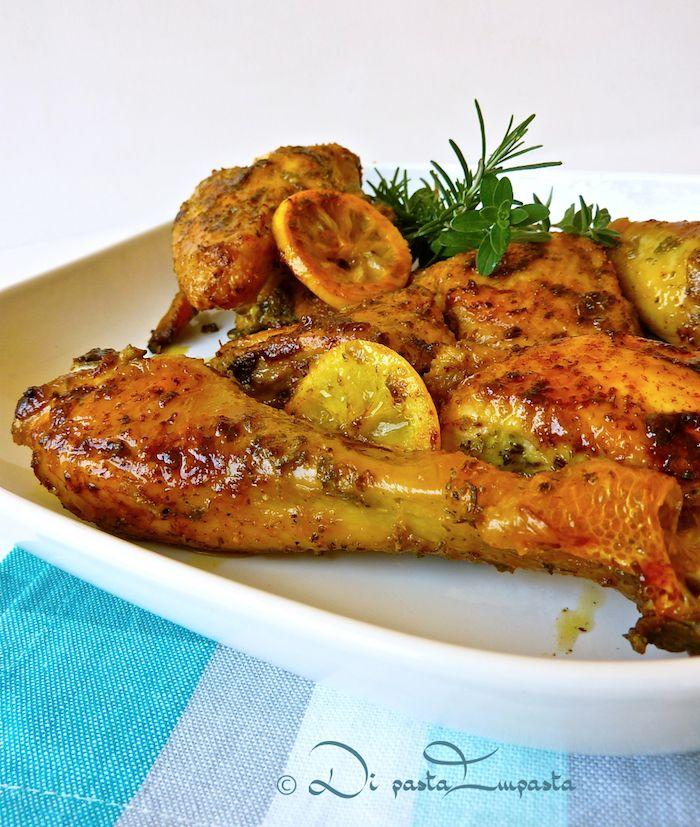 Pollo grigliato con rosmarino e limone... facile e gustoso, di Martha Stewart